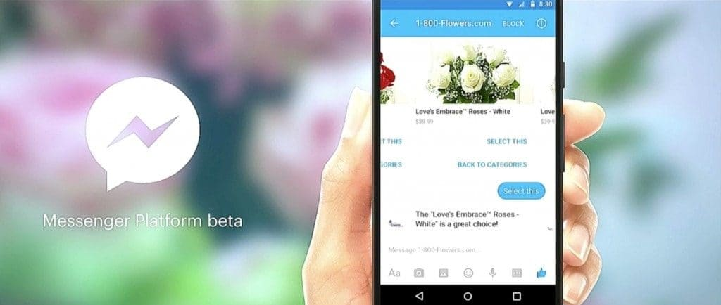 Order flowers, pizza, and more thanks to the new Facebook Messenger and its Artificial Intelligence